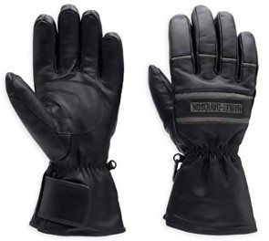 Harley-Davidson Men's Illumination Gauntlet Leather Gloves 98213-13VM