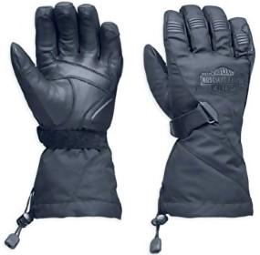Harley-Davidson Men's Passing Link Waterproof Gauntlet Gloves 98305-14VM