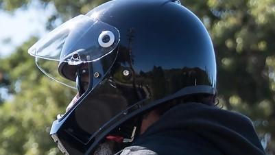 Gloss Black Biltwell Helmet