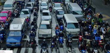 Motorcycle Lane Splitting Guidelines + Laws