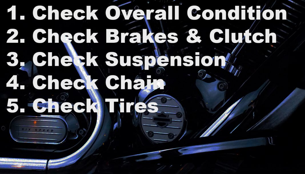Motorcycle Checklist for Used Buyers