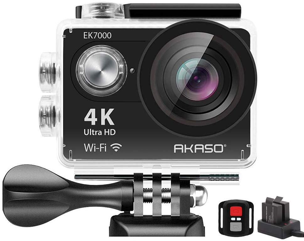 Akaso Action Camera for Motorcycle Helmet