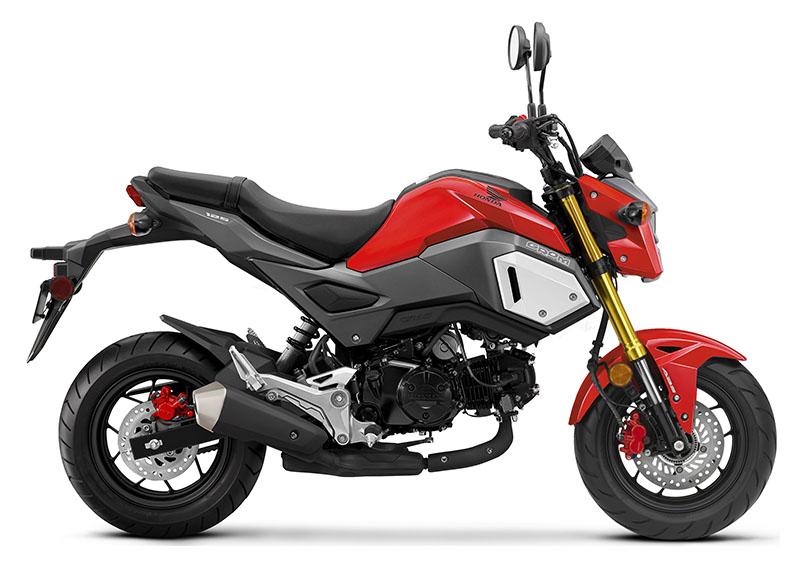 2020 Honda Grom ABS Cherry Red