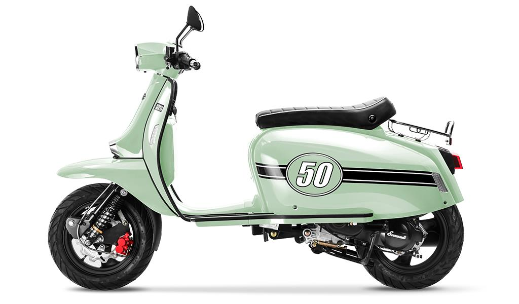 Scomadi TL50 - Best 50cc Scooters