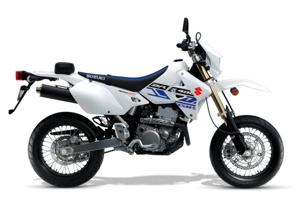 Suzuki DR-Z400SM - Best Beginner Motorcycles