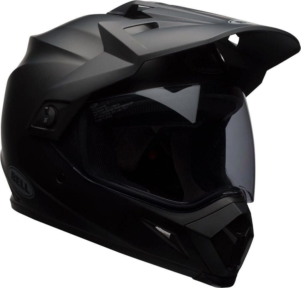 Bell MX-9 Adventure MIPS Full-Face Motorcycle Helmet (Solid Matte Black, Large)