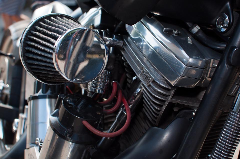 Clean Dirt Bike Air Filter