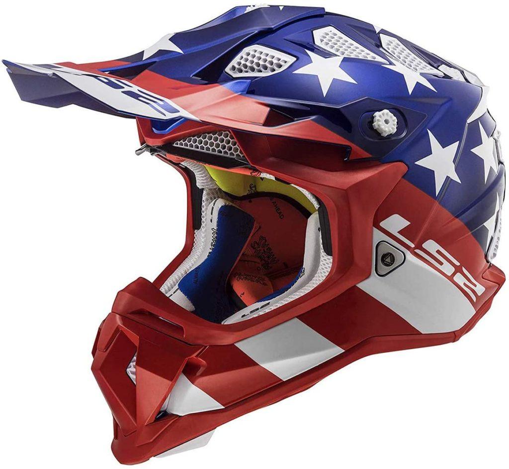 LS2 Helmets MX-Off Road Subverter Helmet (Krome Glory - 2X-Large)