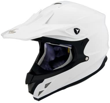 SCORPION VX-34 White Off Road Helmet