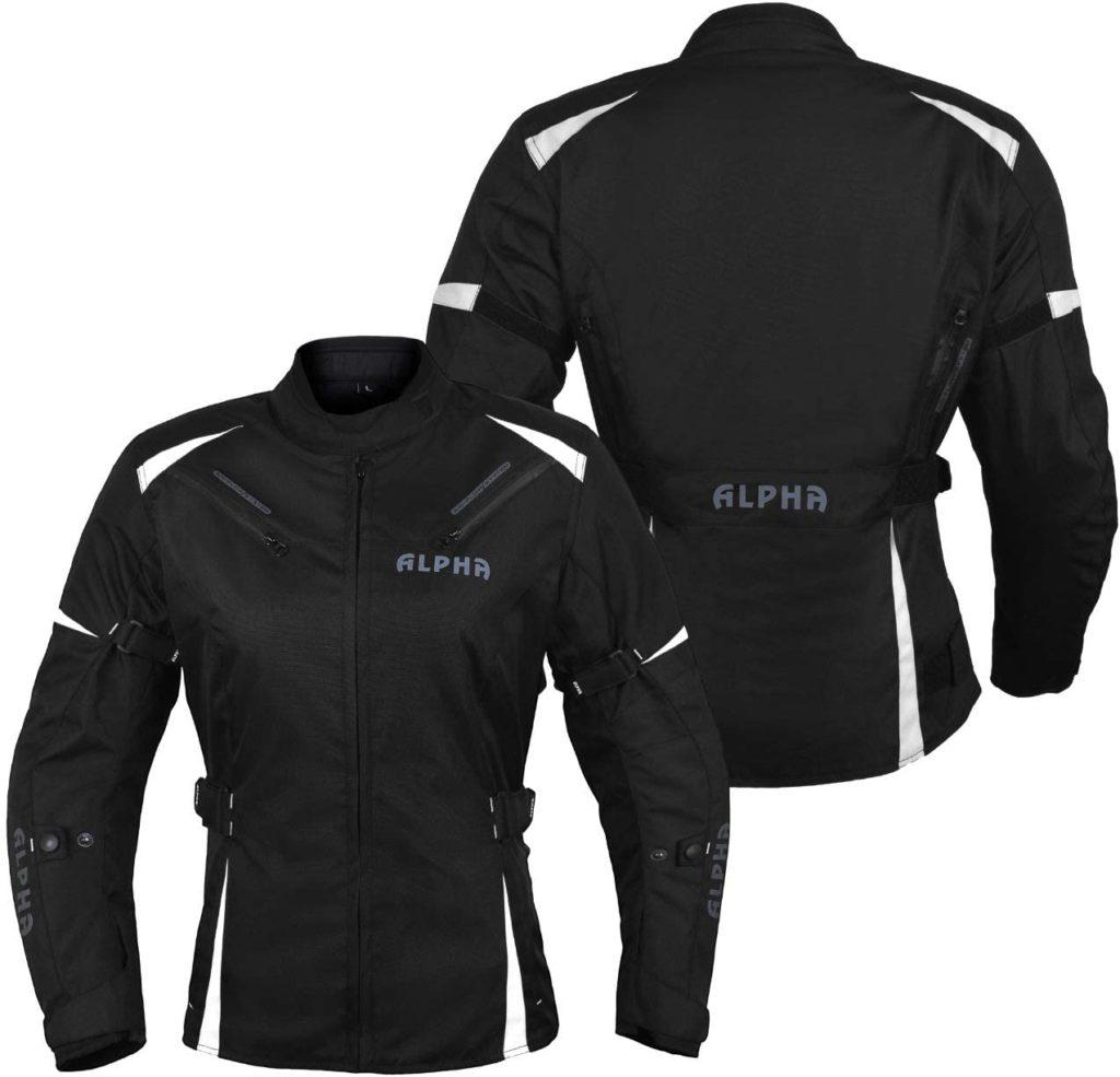 Alpha Cycle Women Motorcycle Jacket