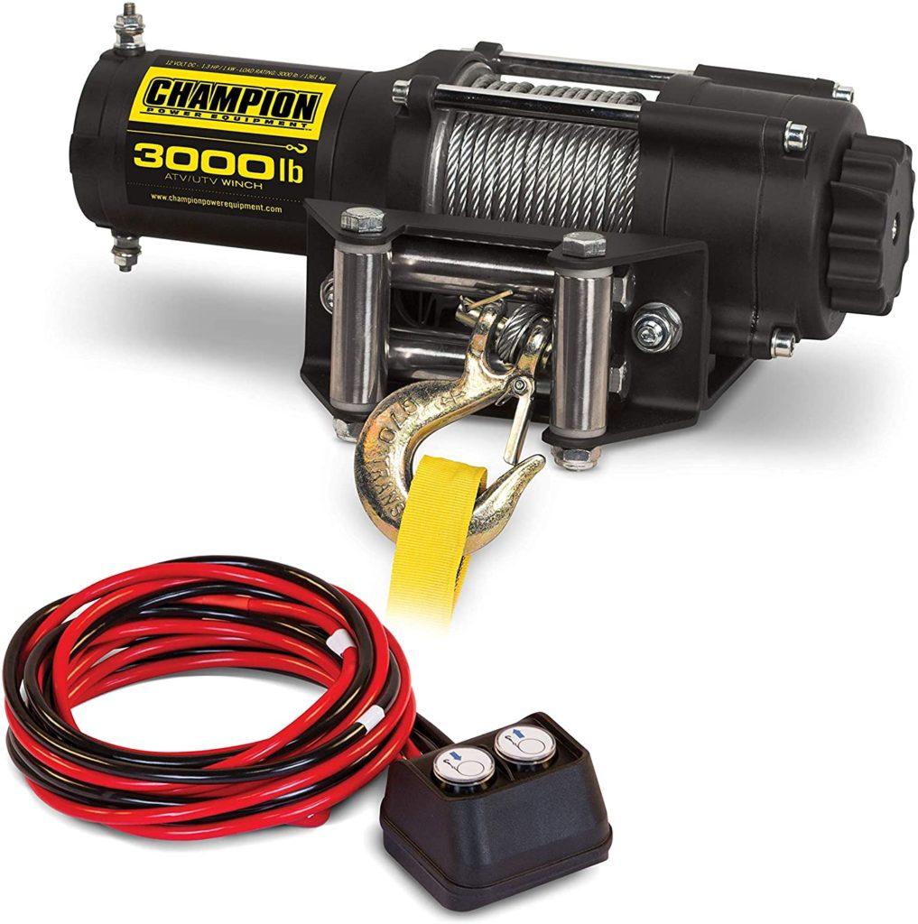 Champion Power Equipment 13004 ATV/UTV Winch Kit