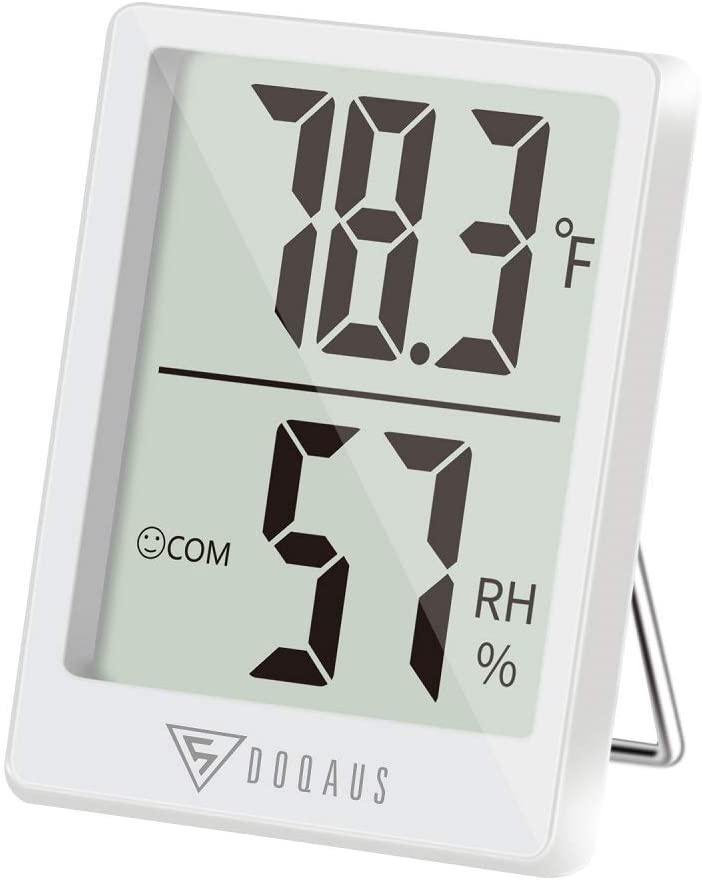 Doqaus Digital Hygrometer-Thermometer Gauge