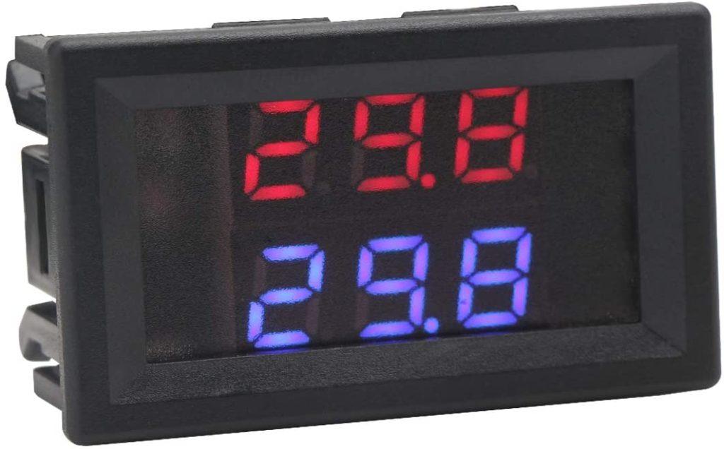 Drok Digital Motorcycle Temperature Detector