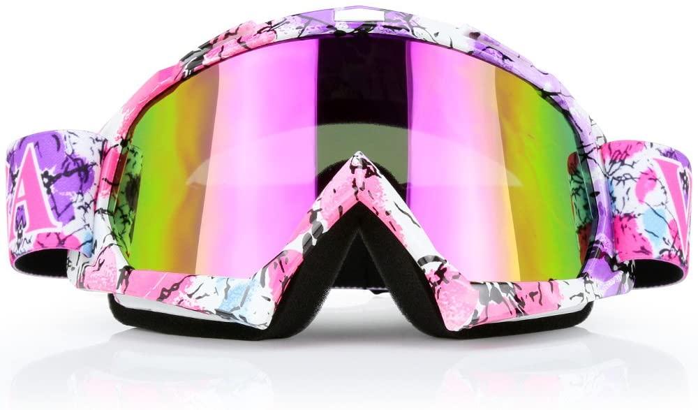 Jamiewin ATV Racing Goggles