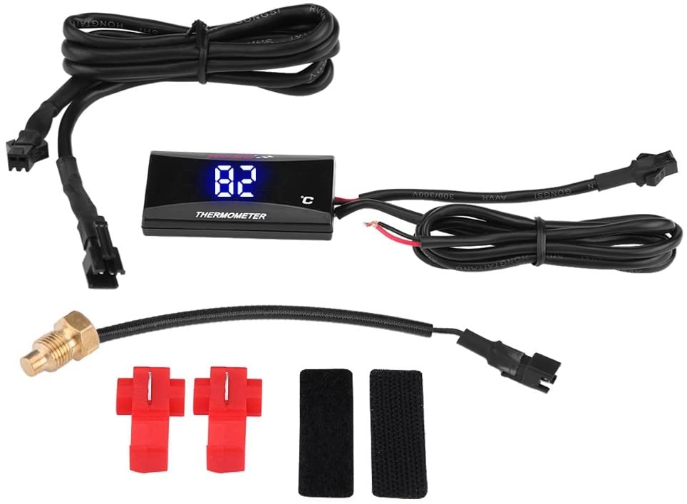 KIMISS Motorcycle Digital Thermometer