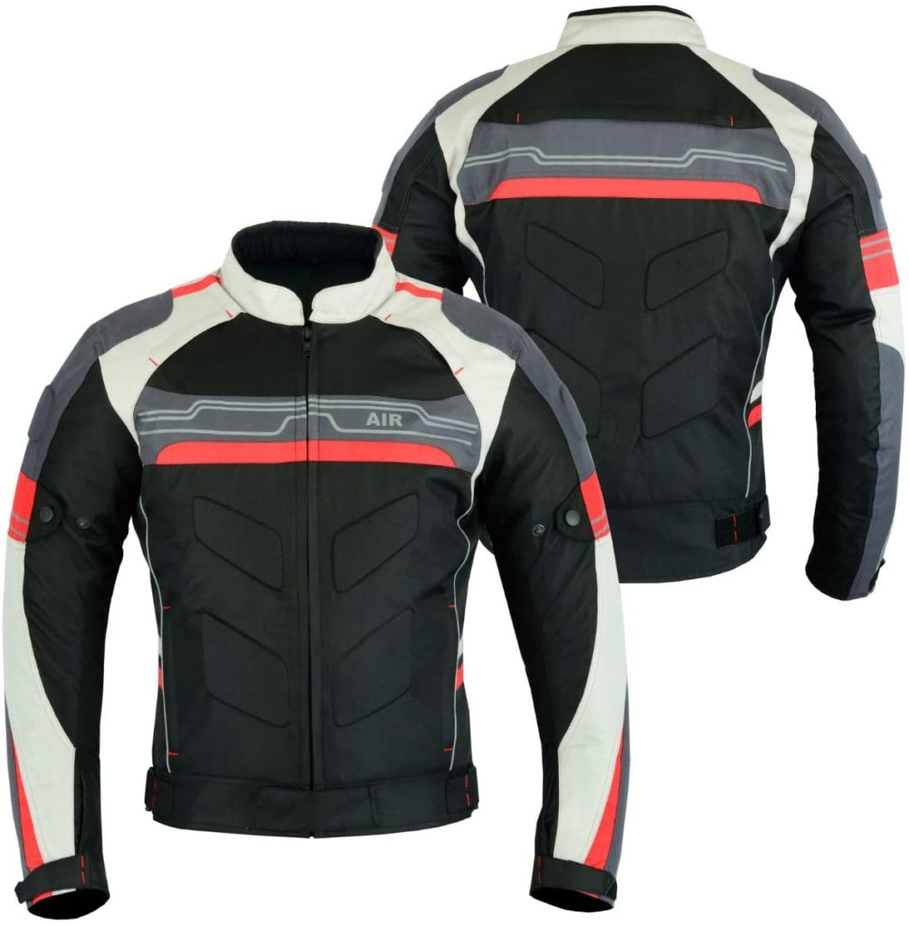 Leather Teknik Cordura Motorcycle Jacket