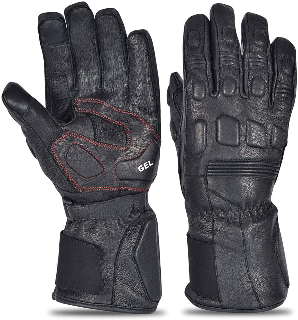 Robox Goatskin Leather Motorcycle Gloves