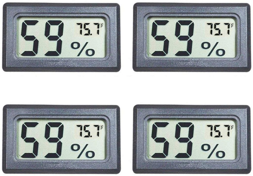 Veanic Mini Digital Motorcycle Thermometer