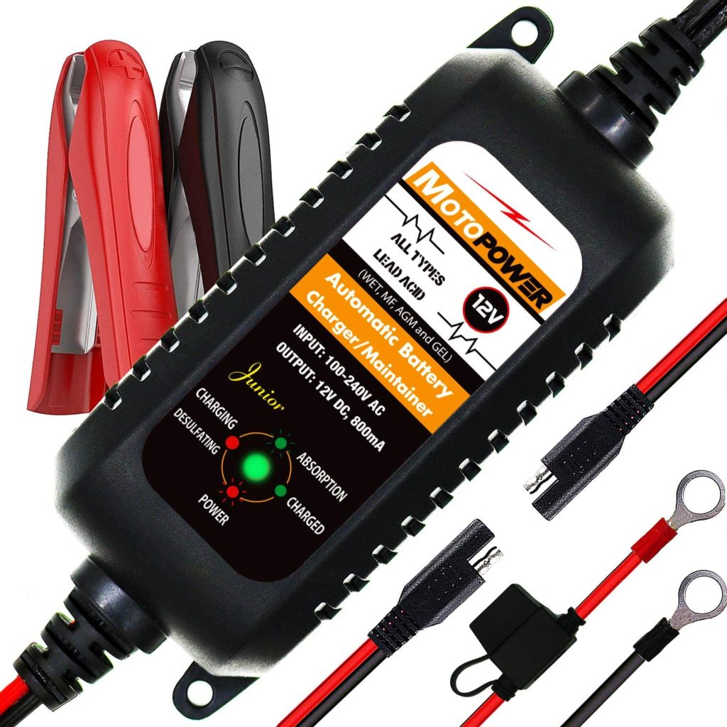 Best Motorcycle Battery Maintainer 3