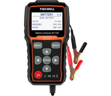 FOXWELL BT705 Car Battery Tester