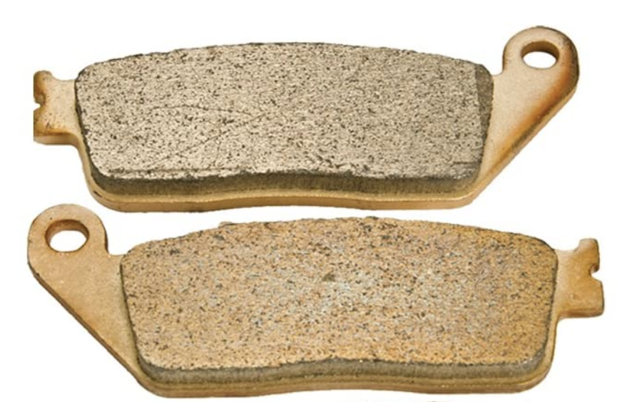 Front and Back Motorcycle Brake Pads