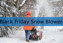 Black Friday Deals on Snow Blowers