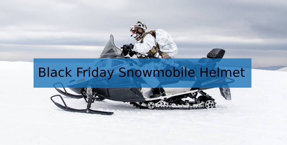 Snowmobile Helmets Deals on Black Friday