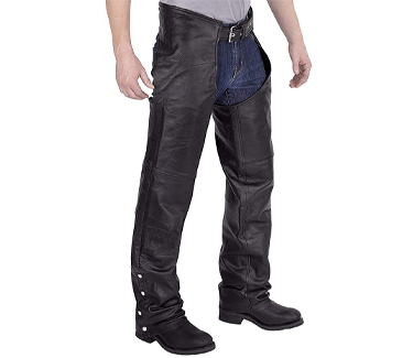 Viking Cycle Leather Chaps