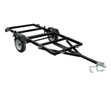 Ironton Steel Folding Utility Trailer Kit