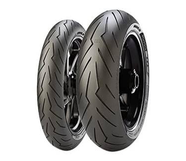 Pirelli Diablo Rosso III Front & Rear Street Sport Motorcycle Tires