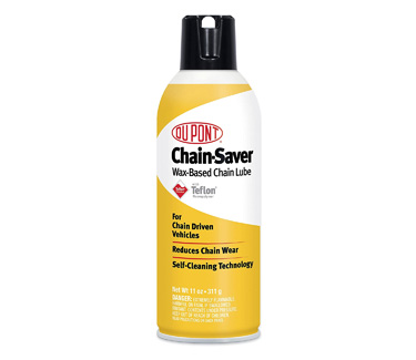 DuPont Teflon Chain-Saver Dry Self-Cleaning Lubricant   Motorcycle Chain Lube