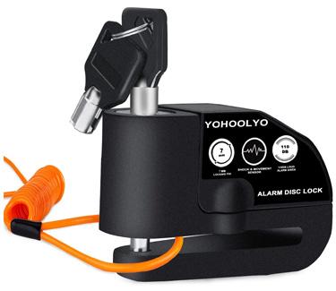 YOHOOLYO Disc Lock Alarm Motorcycle Alarm