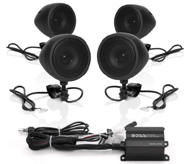 Boss Audio Systems MCBK470B Motorcycle Sound Systems